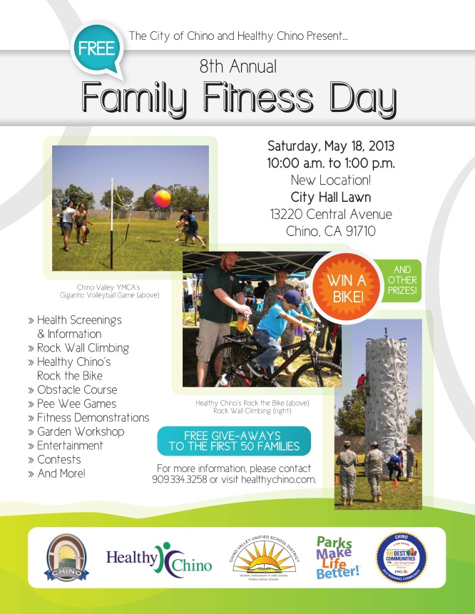 Healthy Chino Family Fitness Day Sam The Chiropractor Chino